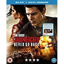 Jack Reacher: Never Go Back (Blu-ray + Digital Download) [2016]